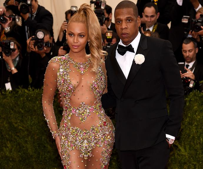 Beyonce and Jay Z - no word on whether they'll ride a lift with Solange this year!