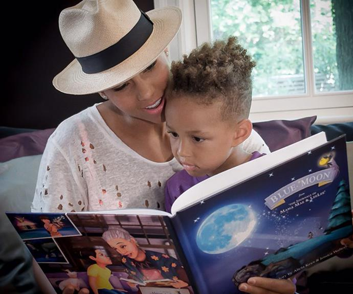 "Grammy Award-winner, Alicia Keys is mum to Egypt and Genesis Ali Dean revealed ""Being a parent has made me more open, more connected to myself, more happy, and more creative!"""