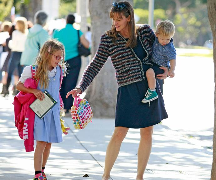 Jennifer Garner is mum to Violet, Seraphina and Samuel.