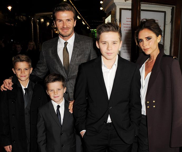 Victoria Beckham is a super mum to her brood!