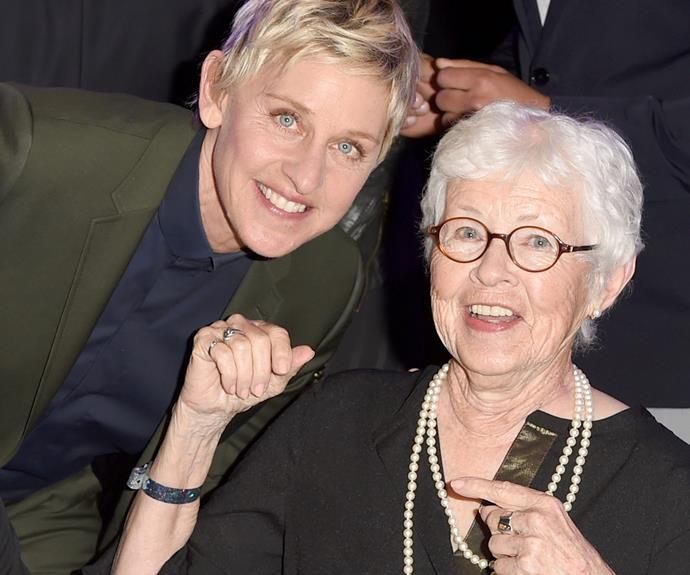 "Ellen and Betty DeGeneres share a very tight bond. The mum of the funnylady is clear proud, once musing, ""I think it's because she's natural and they know that what they see up there, that that's who she is. She's not putting on an act."""