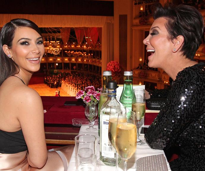 "Kim Kardashian once said about Kris, ""After becoming a mum myself I understand you in a way I didn't think was possible. I respect so much how you are able to raise six children, have a career and give each of us so much attention and be our biggest supporter and love us so unconditionally."""