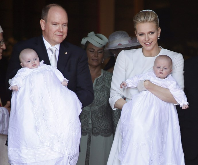 It's so lovely to see Princess Charlene smiling!
