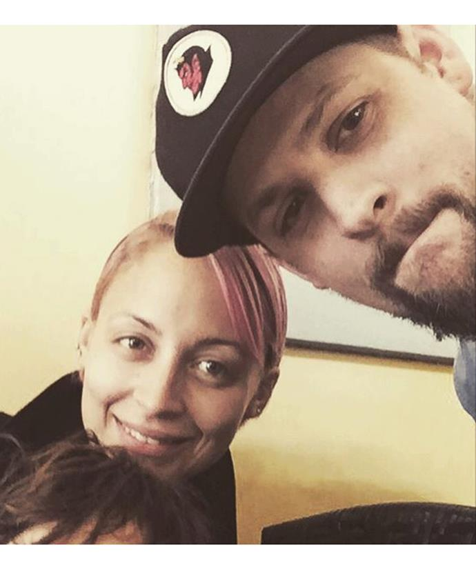 Damage control? Joel shared this adorable photo thanking Nicole for being a great wife and mother.