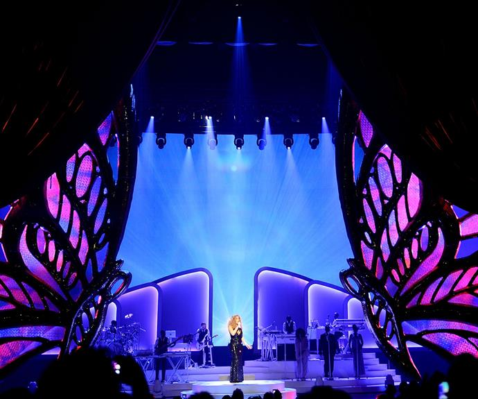 No expense has been spared for the stage production of Mariah's Vegas residency.