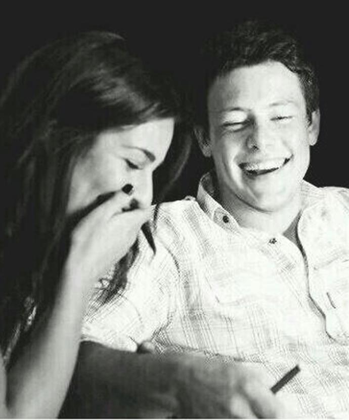 Lea shared this gorgeous snap last year to commemorate Cory's birthday.