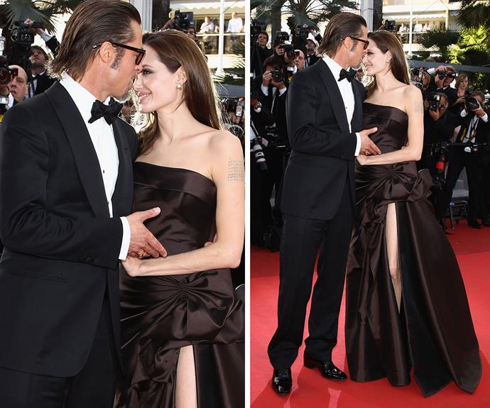 Brangelina flaunt their grand romance on the red carpet in 2011.