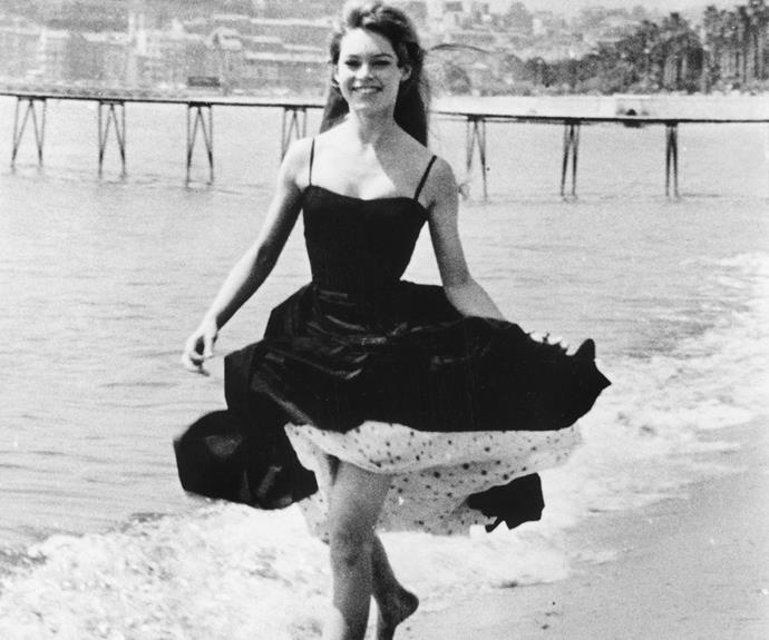 The stunning seaside location of Cannes has given rise to some iconic moments such as Bridgette Bardot's frolic on the beach in 1956.