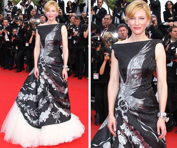 Australia's own Cate Blanchett rocking Alexander McQueen like no other