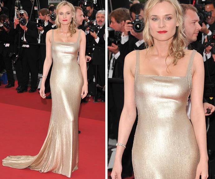 Diane Kruger in 2011 shows that sometimes simple can be the most affective.