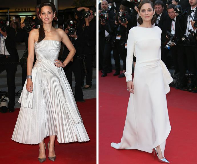 Oscar-winning French actress Marion Cotillard always looks more than at home in her home country's biggest film event.
