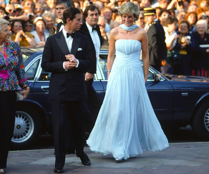 Even royalty has attended Cannes! Princess Diana and Prince Charles attending in 1987.