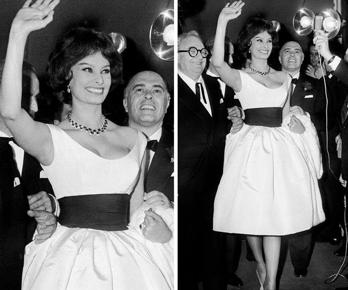 Sophia Loren: one of the original silver screen icons, in 1959.