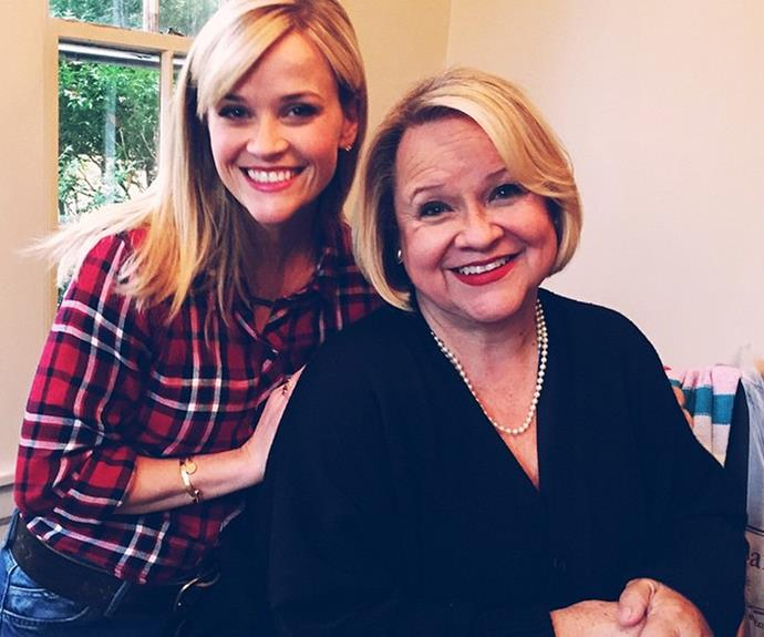 "[Reese Witherspoon](http://www.nowtolove.com.au/celebrity/tv/reese-witherspoon-big-little-lies-season-two-37274|target=""_blank"") with her beautiful mamma bear, Betty. The pair both share that super warm smile."