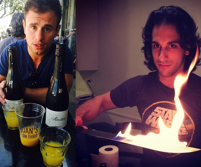 Rhiannon has shared multiple snaps of Jack Pearson (L) and most recently Deniz Akdeniz (R).