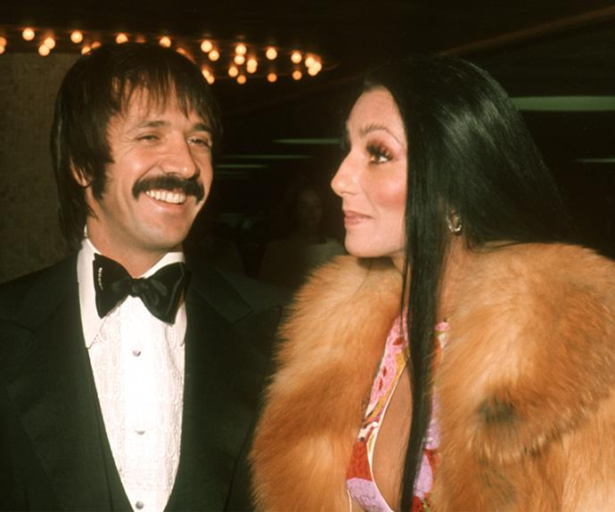 """But with fame comes great pressure and the couple sadly divorced in 1975. Sonny then went on to peruse a political career but tragically passed away from a skiing accident in 1998. """"[He treated me] more like a golden goose than like his wife. I forgive him, I think. He hurt me in so many ways,"""" the singer has said of Sonny. **Watch Cher talk about her love life in the next slide. Gallery continues after the video...**"""