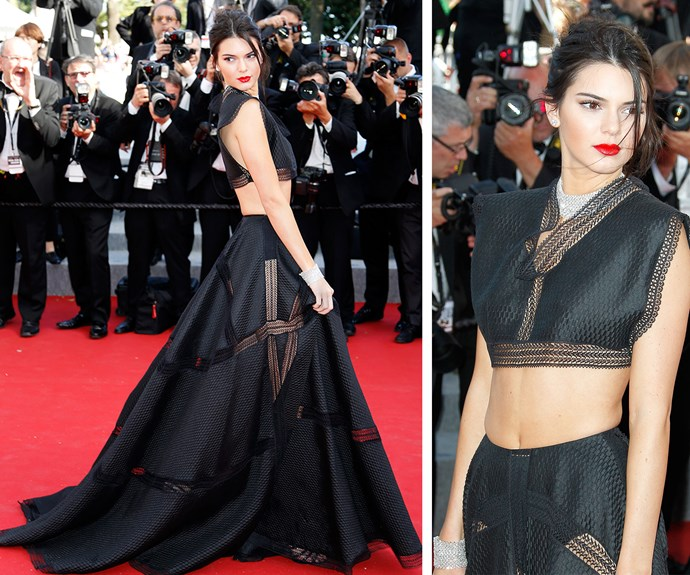 Kendall was all kinds of boho chic!