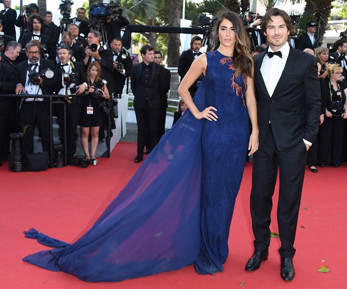 Nikki Reed and Ian Somerhalder first red carpet as a married couple.