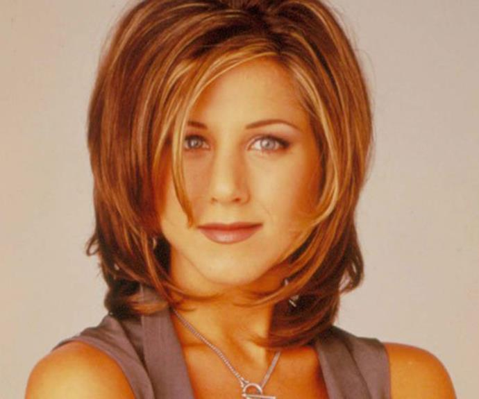 "During the Ninties millions of people marched into the hairdressers with this photo image and demanded ""The Rachel."""