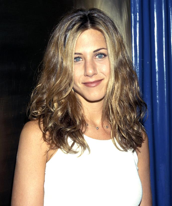 She's also experimented with sandy blonde waves.