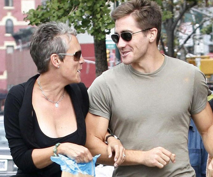 Jake Gyllenhaal's godmother is Eighties superstar, Jamie Lee Curtis.