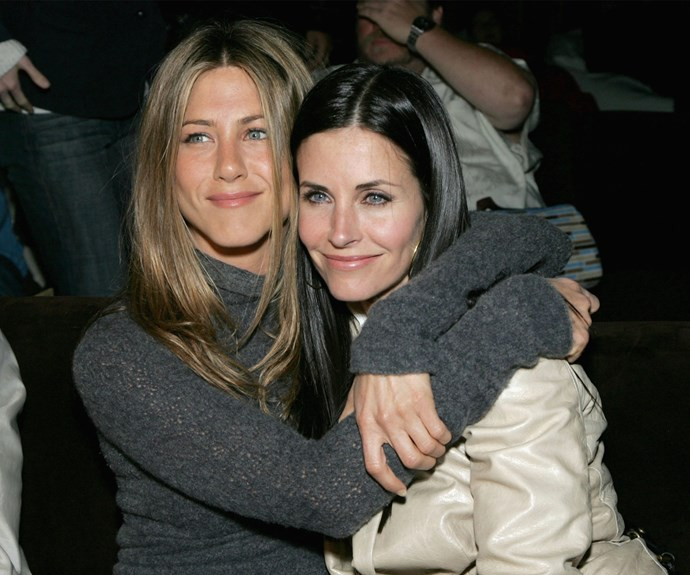 Jennifer Aniston and Courteney Cox have been BFFs for years and when it came to picking someone to be daughter Coco's godmother, Court looked no further than Jen.