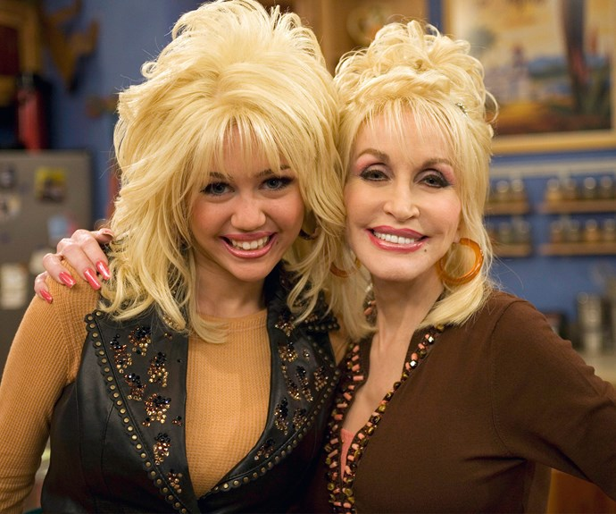 Family sing-alongs would be pretty epic when Miley Cyrus teams up with her godmother, Dolly Parton.
