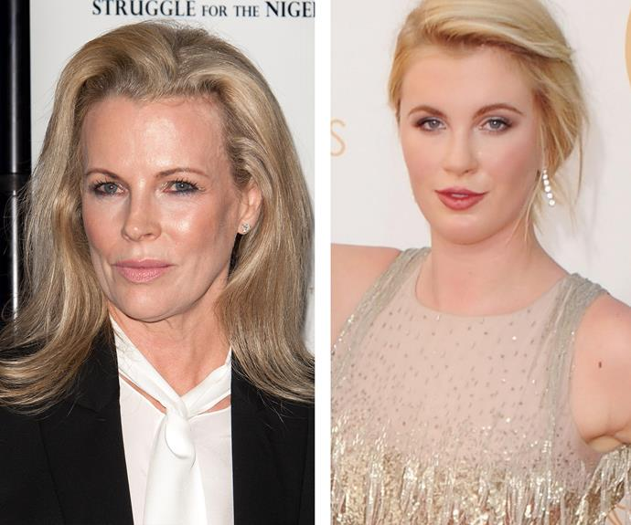 Alec Baldwin and Kim Basinger's daughter, Ireland has inherited her mum's iconic good looks.
