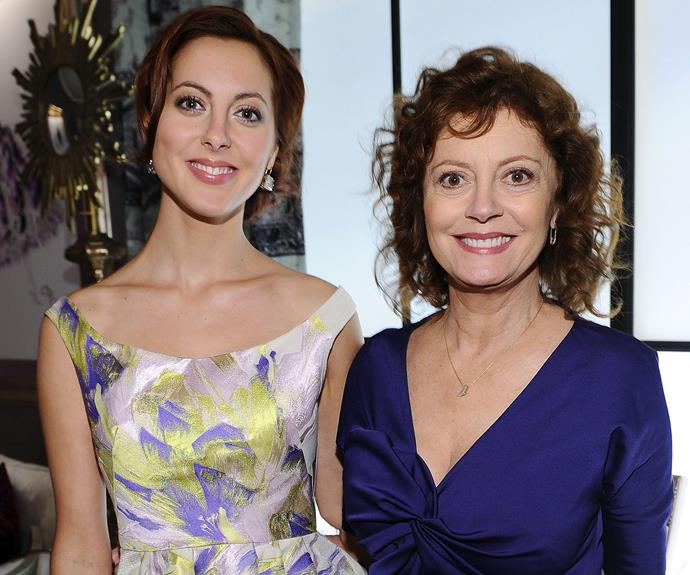 Following in her mum's, Susan Sarandon footsteps, Eva Amurri Martino is also an actress.