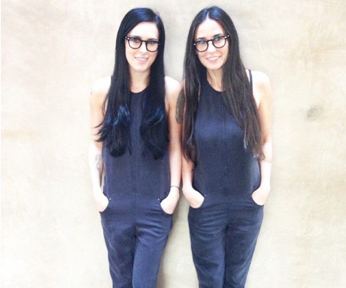 "Are we seeing double!? Nope! Just a snap Rumer Willis shared of her with mum, Demi Moore. ""That moment when you realize you actually are becoming your mother"", she wrote."