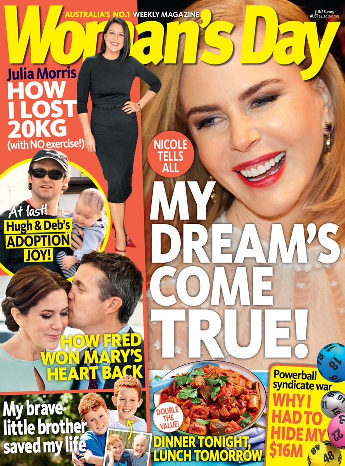 Pick up the new issue of **Woman's Day**, on sale now.