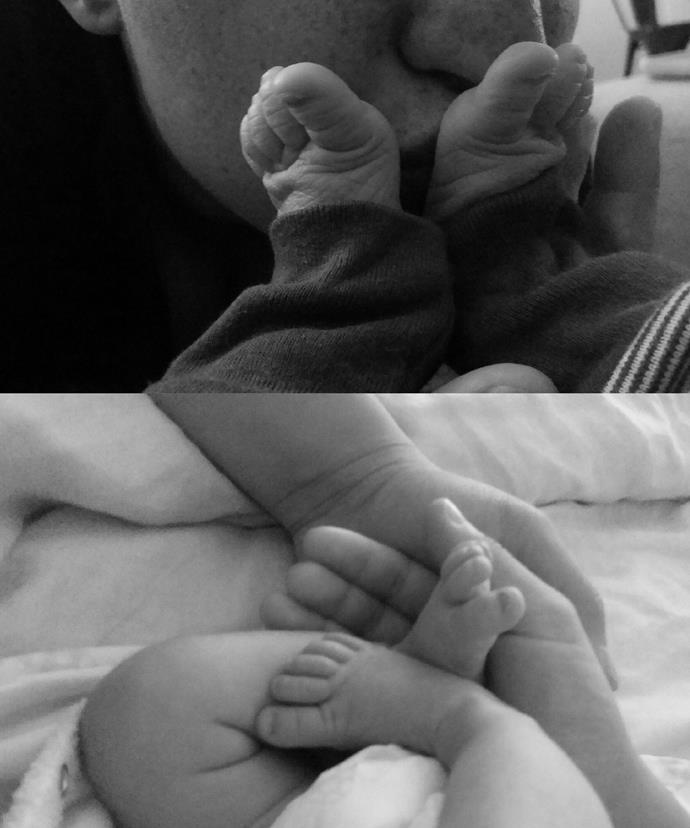 The couple are the proud parents to newborn son Leezak Joshua Susetio!