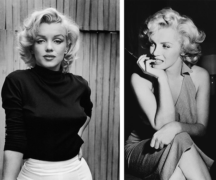 "Marilyn Monroe was the 50s blonde bombshell that shook up the entertainment industry. Born  Norma Jeane Mortenson the actress touched many. She famously said: ""Imperfection is beauty, madness is genius and it's better to be absolutely ridiculous than absolutely boring!"""