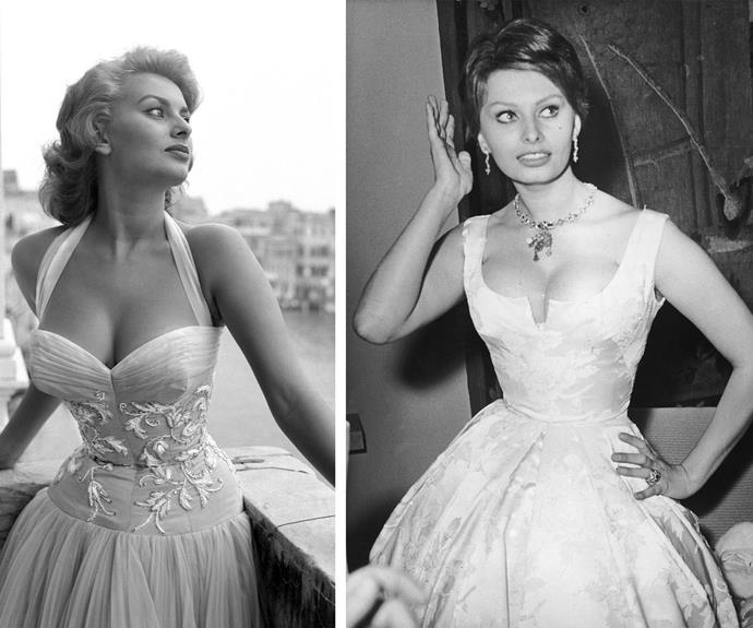 "Sophia Loren was the sultry goddess from Italy. Wisely she once said: ""Nothing makes a woman more beautiful than the belief that she is beautiful."""