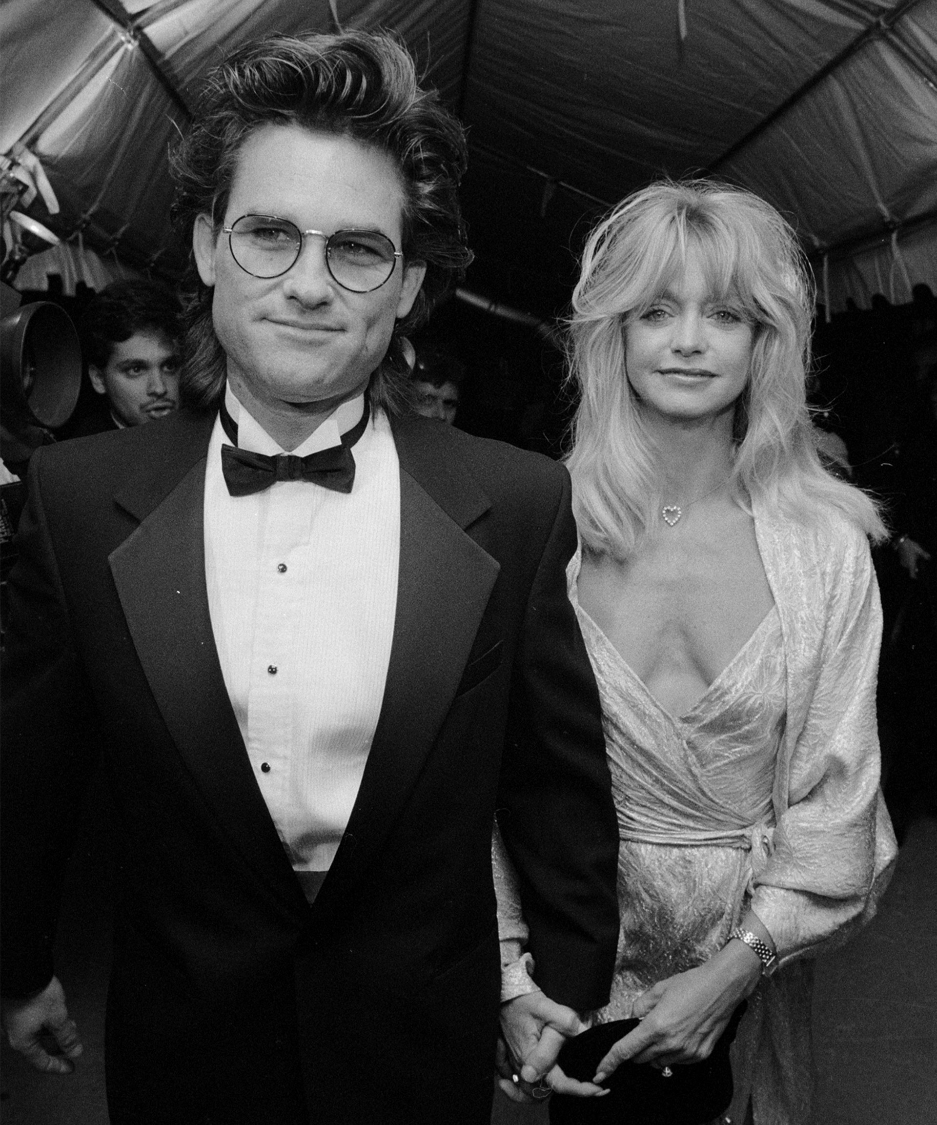 Image: Goldie Hawn and Kurt Russell when young