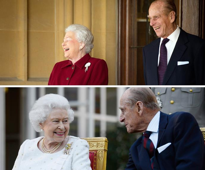 After over 67 years of marriage, the Queen and Philip prove laughter in the best medicine. The Duke always puts a smile on his wife's face.