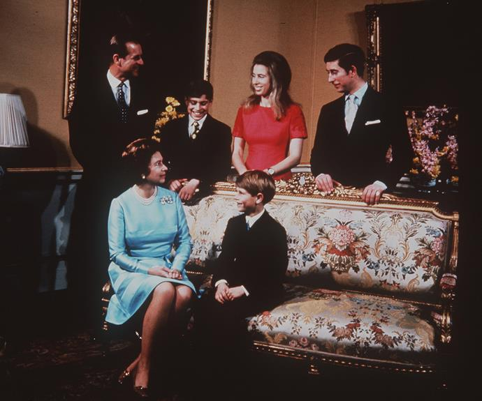 Queen Elizabeth shares a close bond with her children, Charles, Anne, Andrew and Edward.