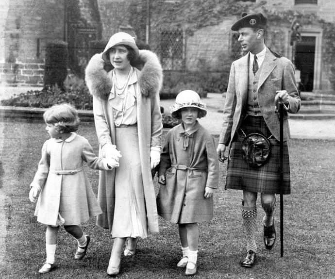 Fashionably royal: The family never took a step out of line always look fantastic.