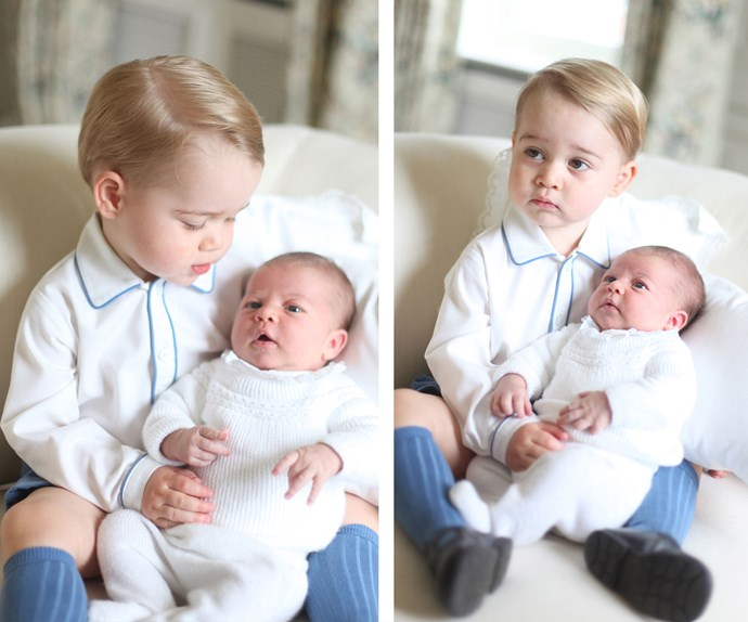The family photos that took the world's breath away, taken by none other than Kate Middleton herself a few months after Charlotte's birth in 2015.