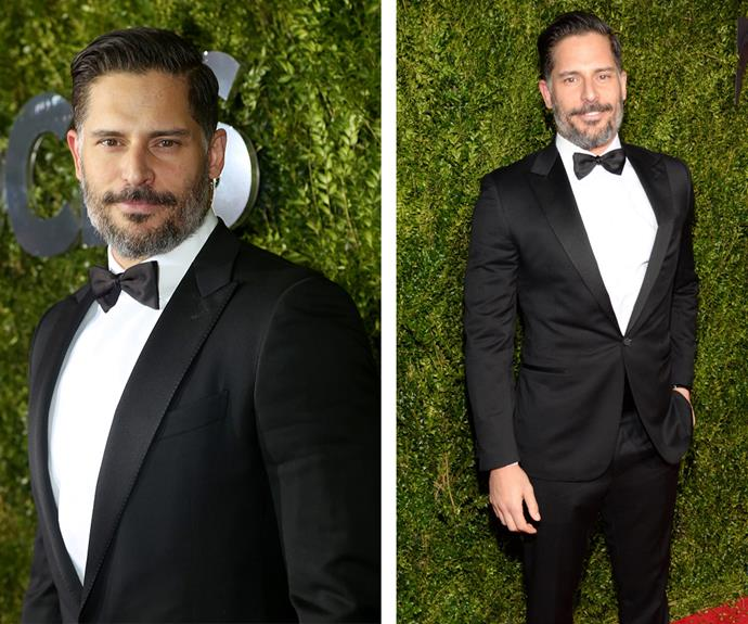 Ahh, it doesn't get much better than Joe Manganiello in a suit.