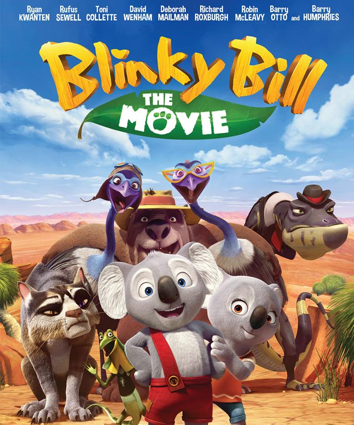 *Blinky Bill The Movie* hits cinemas around the country in late September.