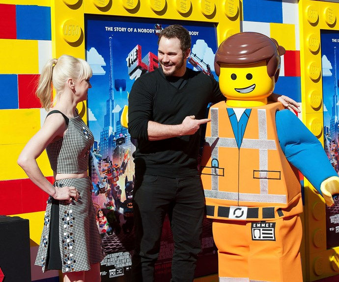 Chris was the voice behind the main character in the *Lego Movie*, Emmet Brickowski and everything was awesome.
