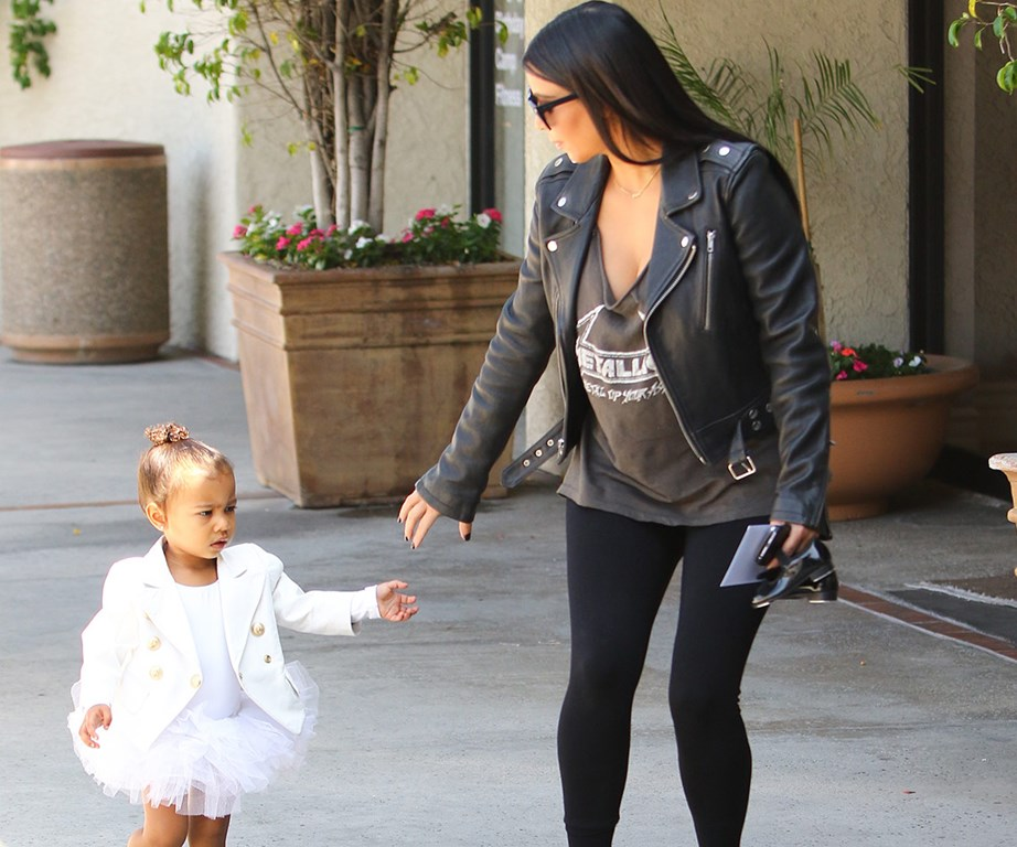 """""""North can have whatever she wants from my wardrobe,"""" Kim has said."""