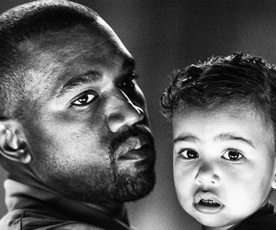 """""""Family is super cool…going home and getting on the floor and playing with your child is super cool,"""" Kanye muses."""