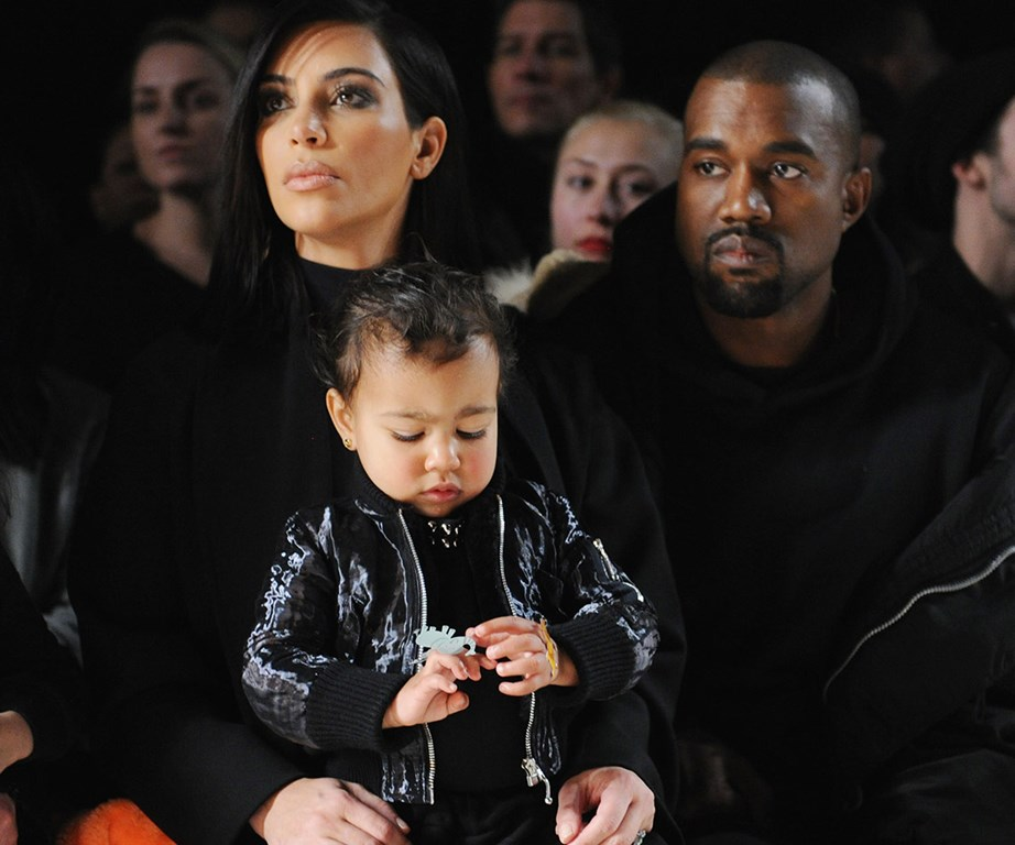 Another day, another fashion show but Nori seems more interested in playing with her toys.