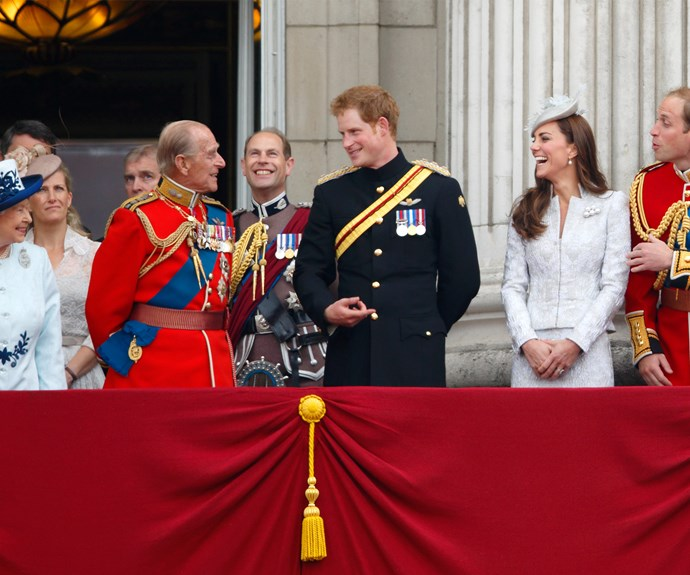 In honour of Queen Elizabeth's birthday the annual tradition of the Trooping the Colour ceremony - we will see all our favourite royals enjoying the spectacular event.