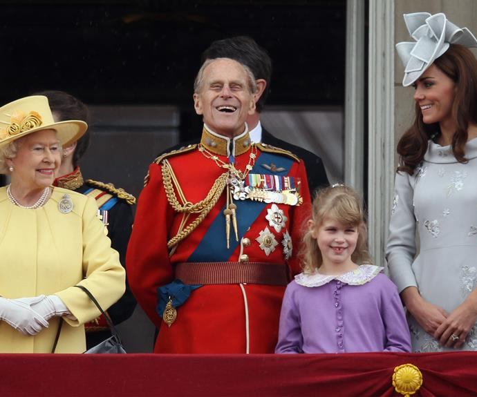 The Buckingham Palace balcony is the place to be. You can expect to see all your royals enjoying their day from there.