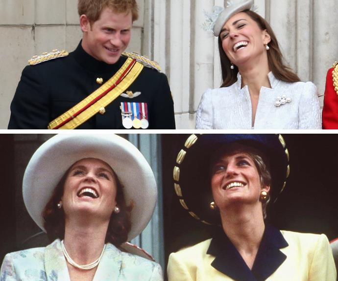 We can't help but notice how much Duchess Catherine reminds us of her mother-in-law, Princess Diana.