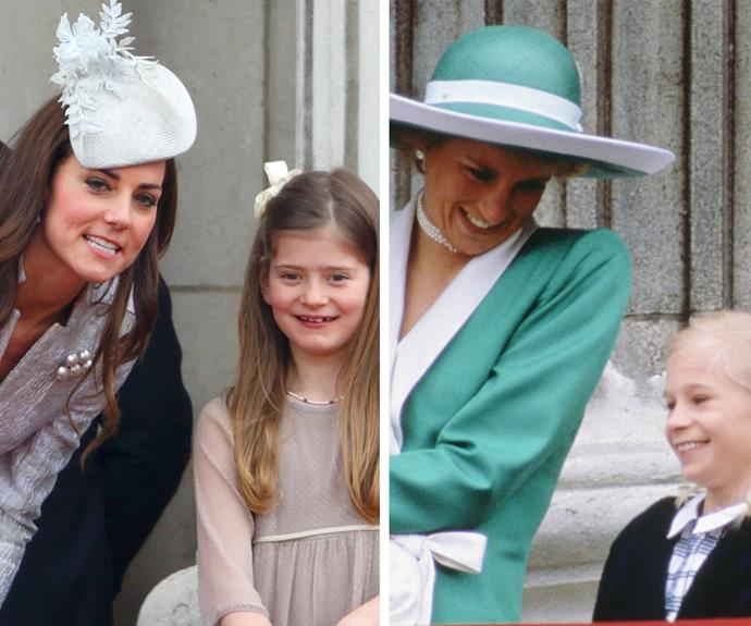 Both of the beautiful royals always make the kid feel at ease at the event.