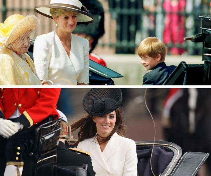 Just like her late mother-in-law, Princess Diana, Kate knows how to step up her style.